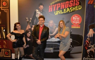Comedy Hypnotist with onstage assistants