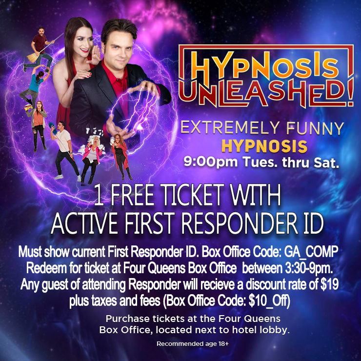 Free Ticket for First Responders