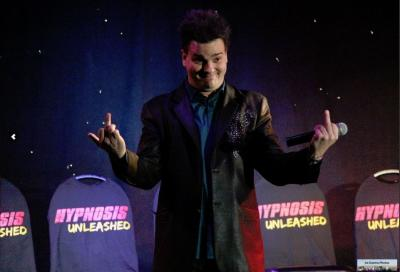 Hypnosis Unleashed Live on stage in Las Vegas