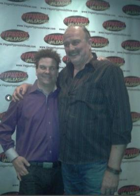 Hypnosis Unleashed the funniest show in Las Vegas welcomes WWE Superstar Jake the snake Roberts