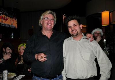 Ron White with Comedy Hypnosis Show star Kevin Lepine