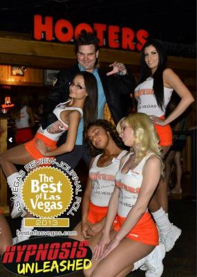 Comedy Hypnosis Show wins first of two Best of Vegas Comedy Hypnosis Show awards