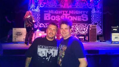 Dicky Barrett of the Mighty Mighty Bosstones and Jimmy Kimmel Live with Kevin Lepine